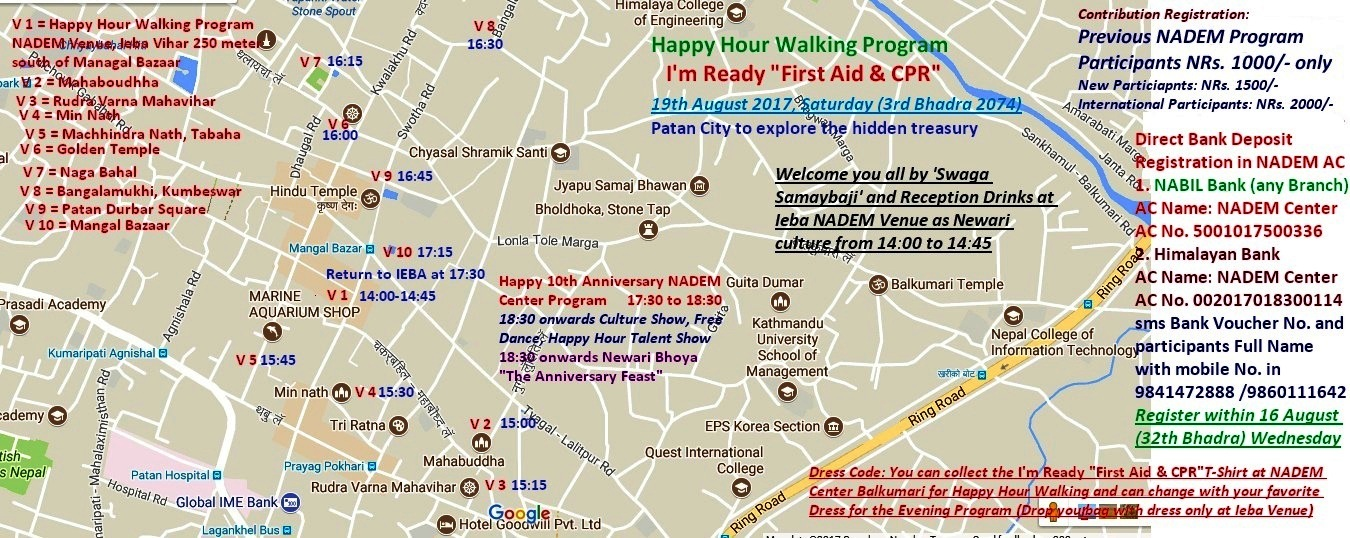 Final Program of HHW Program Travel Details